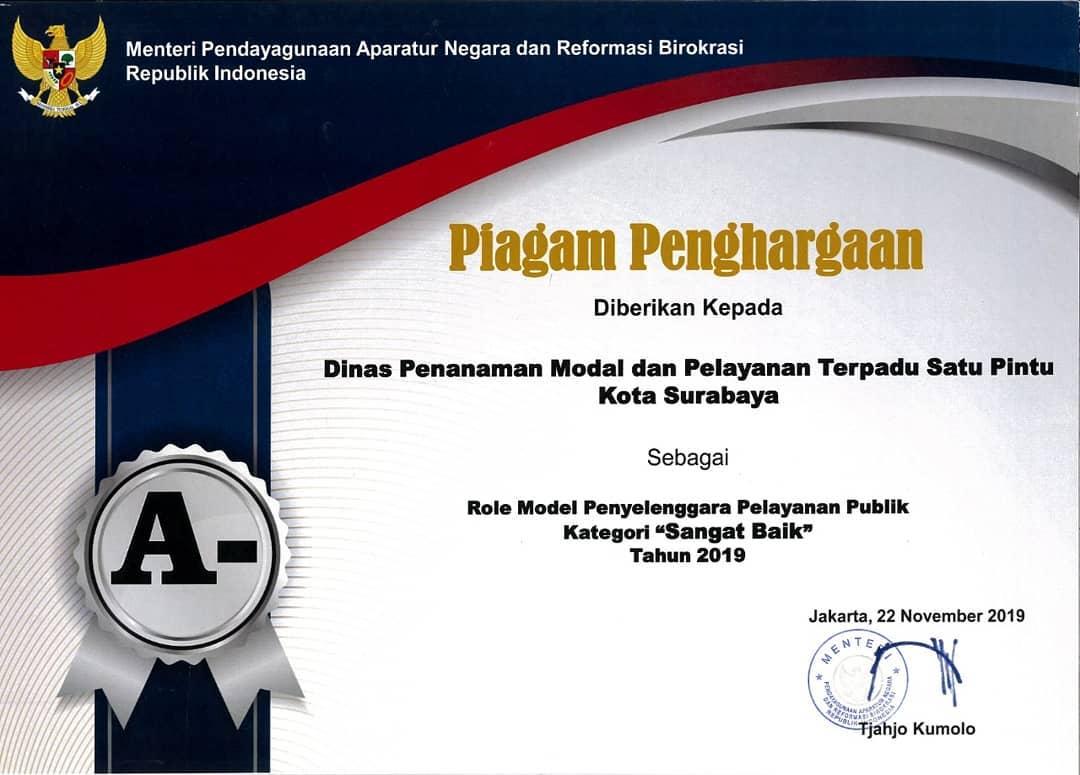 penghargaan menpan 2019